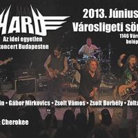 Hard és Cherokee koncert a Városligetben, ingyen@2013.06.26.