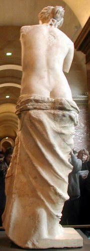 A milói Vénusz hátulról