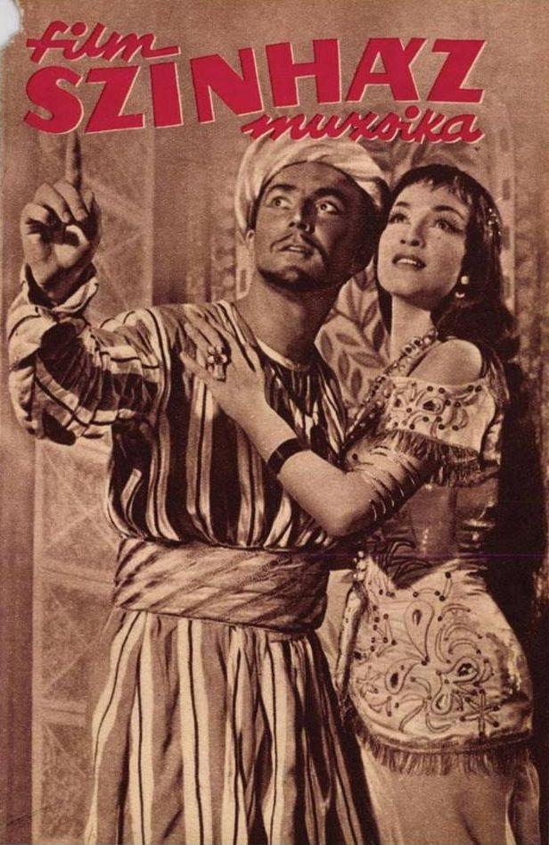 Zenthe Ferenc és Vass Éva a darabban