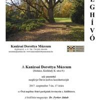 Új kiállítás a Kanizsai Dorottya Múzeumban