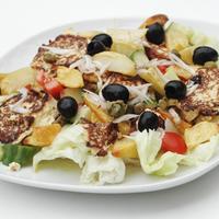Sült ricottás saláta