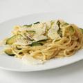 Spaghetti Carbonara cukkinivel