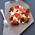 Túrógombóc eperrel, bazsalikommorzsával, répatortával és Gourmet Fesztivál ajánló