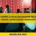 Ki akar Ajkán, Tapolcán és Sümegen nyerni?