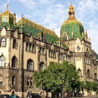 Magyar Iparművészeti Múzeum (Museum of Applied Arts)