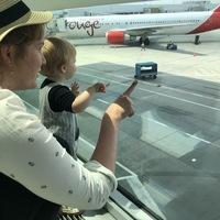 Az első repülőút