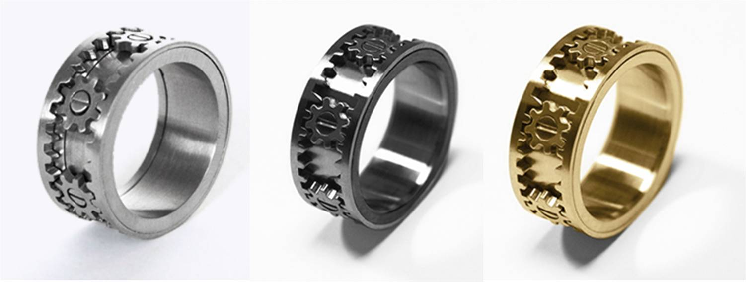 """Különleges, """"pasivonzó"""" karikagyűrűk és vicces férfigyűrűk"""