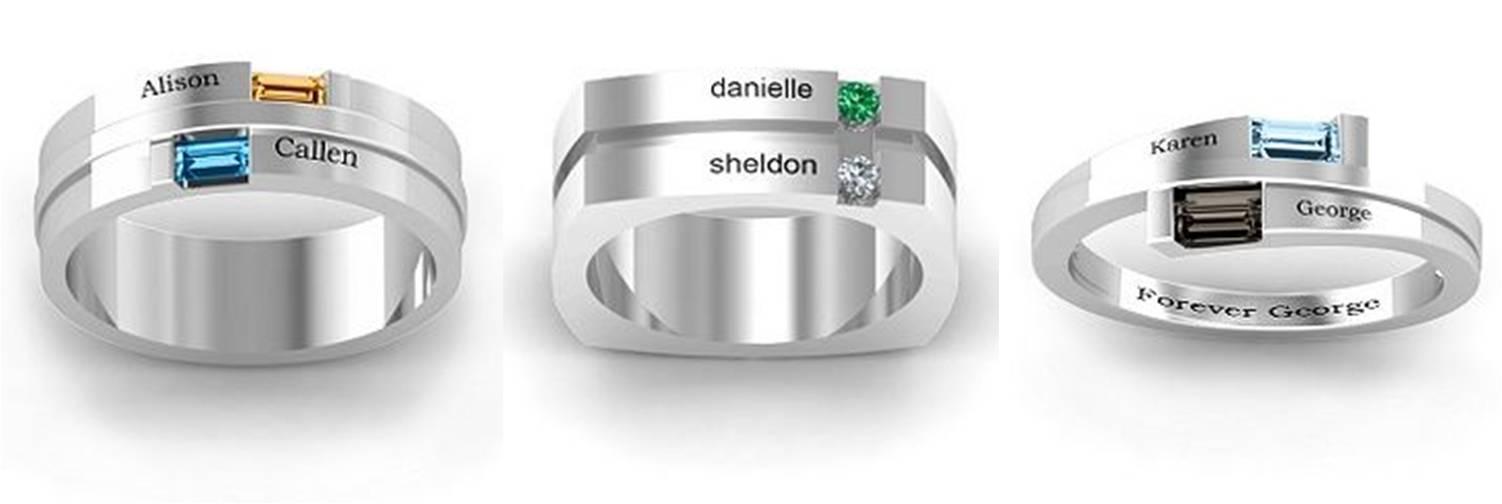 Különleges karikagyűrűk
