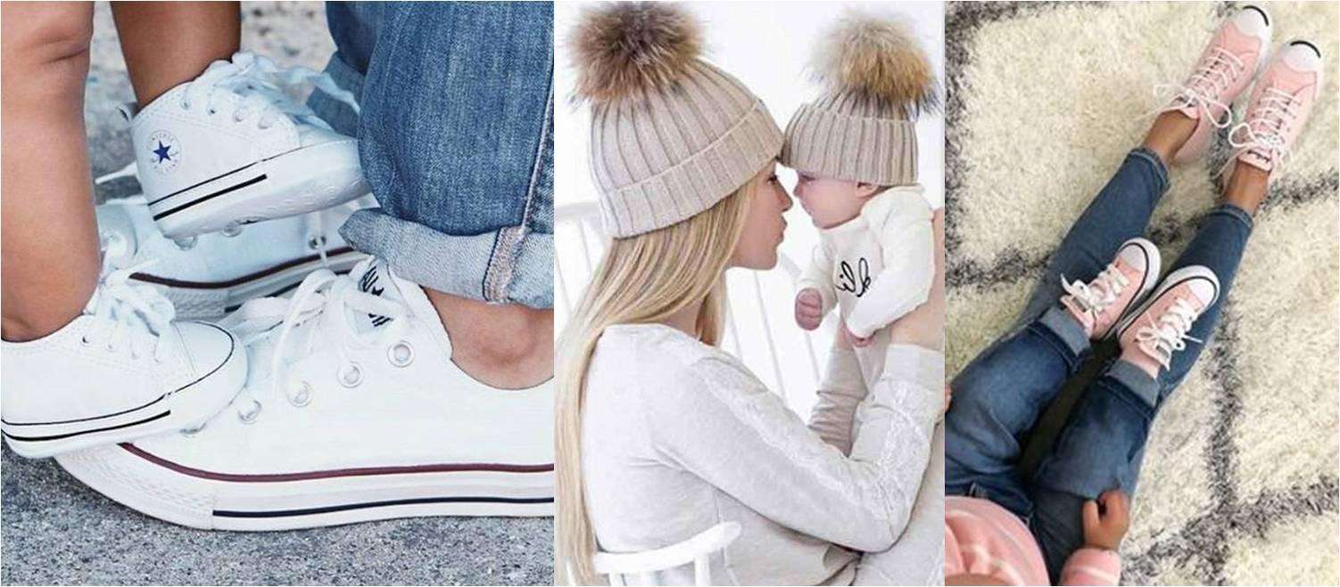 Stílusos baba-mama outfitek őszre