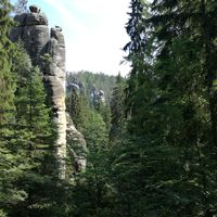 A cseh sziklalabirintus - Adršpach