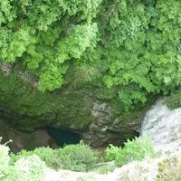 Csehország szépségei: Macocha-szakadék, Punkva barlang