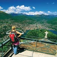 Lugano, a mediterrán svájci város