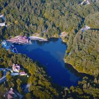 Medve-tó, a világ legnagyobb heliotermikus tava
