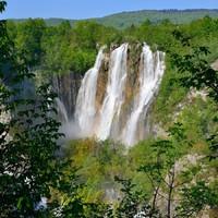 Víz alul és felül - Plitvice esőben