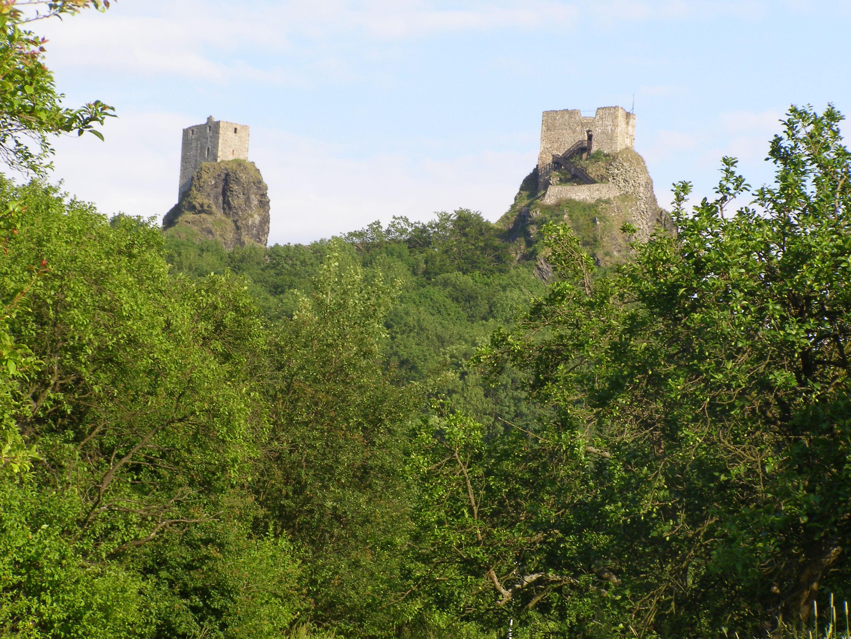 Trosky vára (Forrás: www.hrad-trosky.eu)