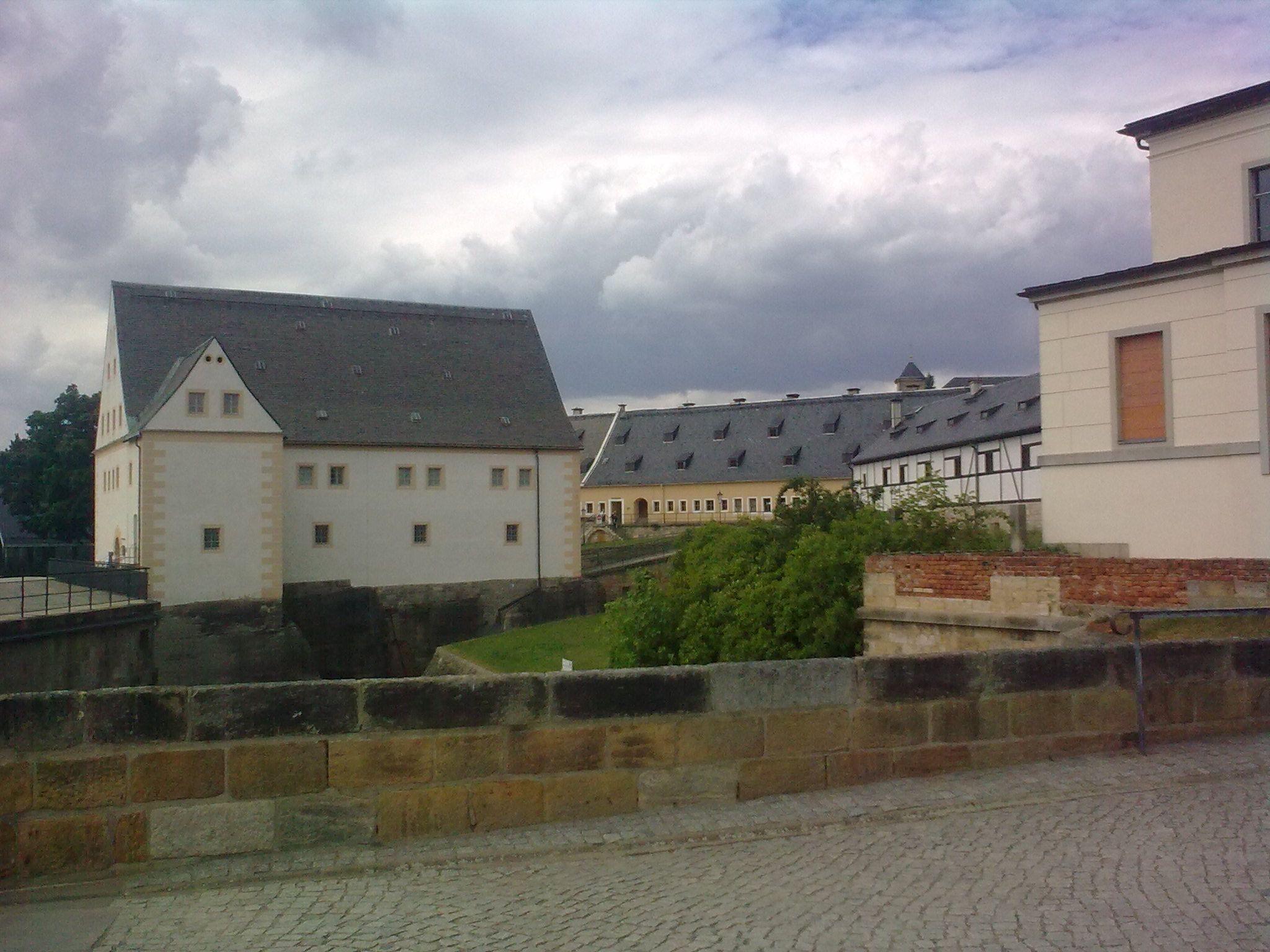 Königstein, várudvar