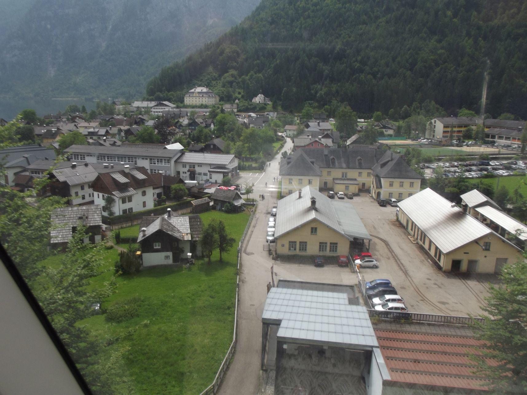 Indul a Salzbergbahn