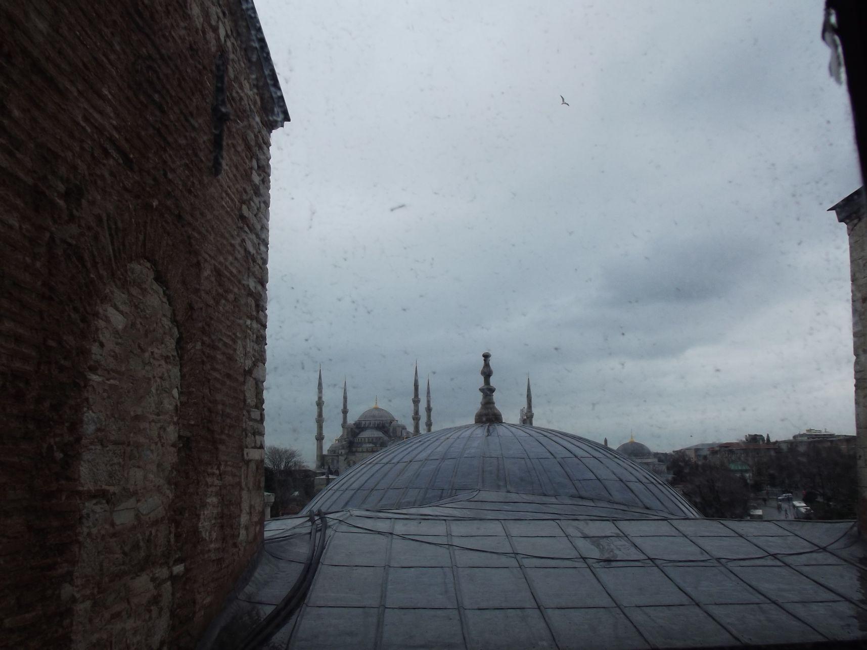 Kék Mecset a Hagia Sophiából