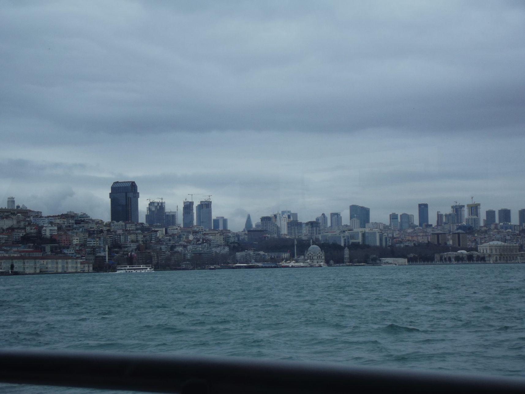 Ázsiai oldal a hajóról