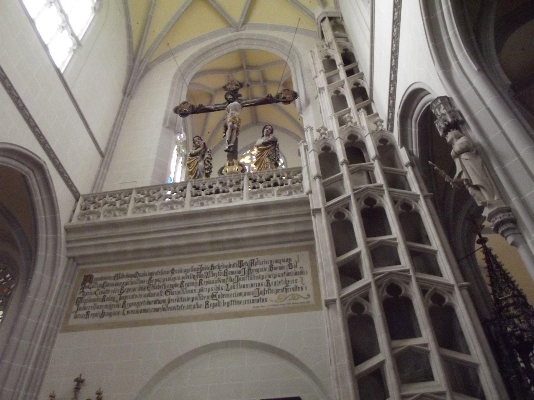 12_Király-lépcső és Mátyás oratórium