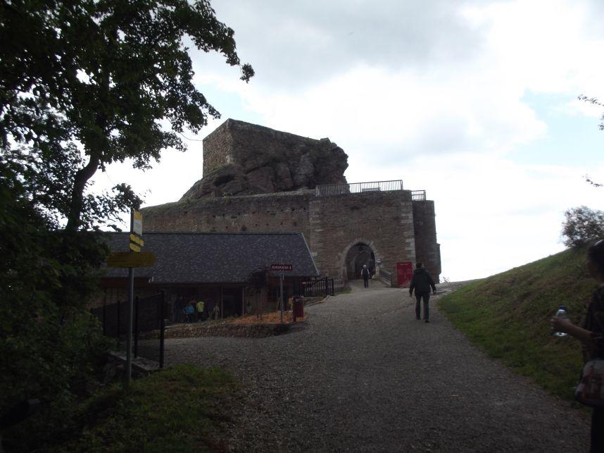 Aggstein, a vár bejárata
