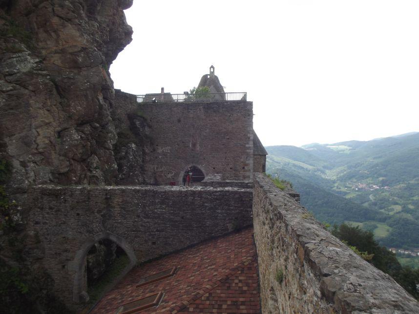 Aggstein, a vár