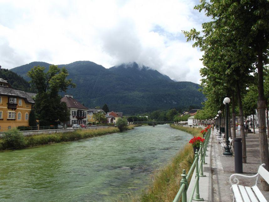 Bad Ischl, Traun folyó