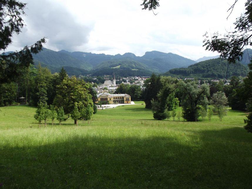 Bad Ischl, a Császárvilla parkja