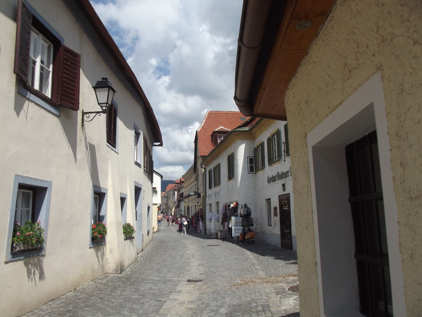 Dürnstein, főutca