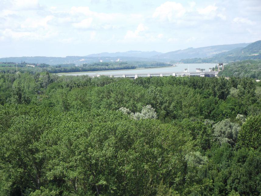 Melk, vízerőmű a Dunán
