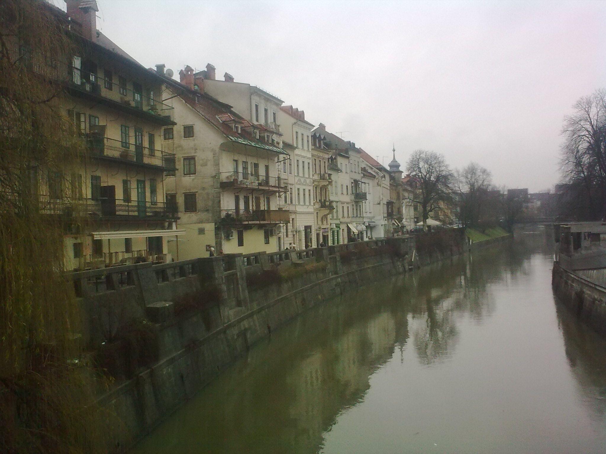 A Ljubljanica folyó