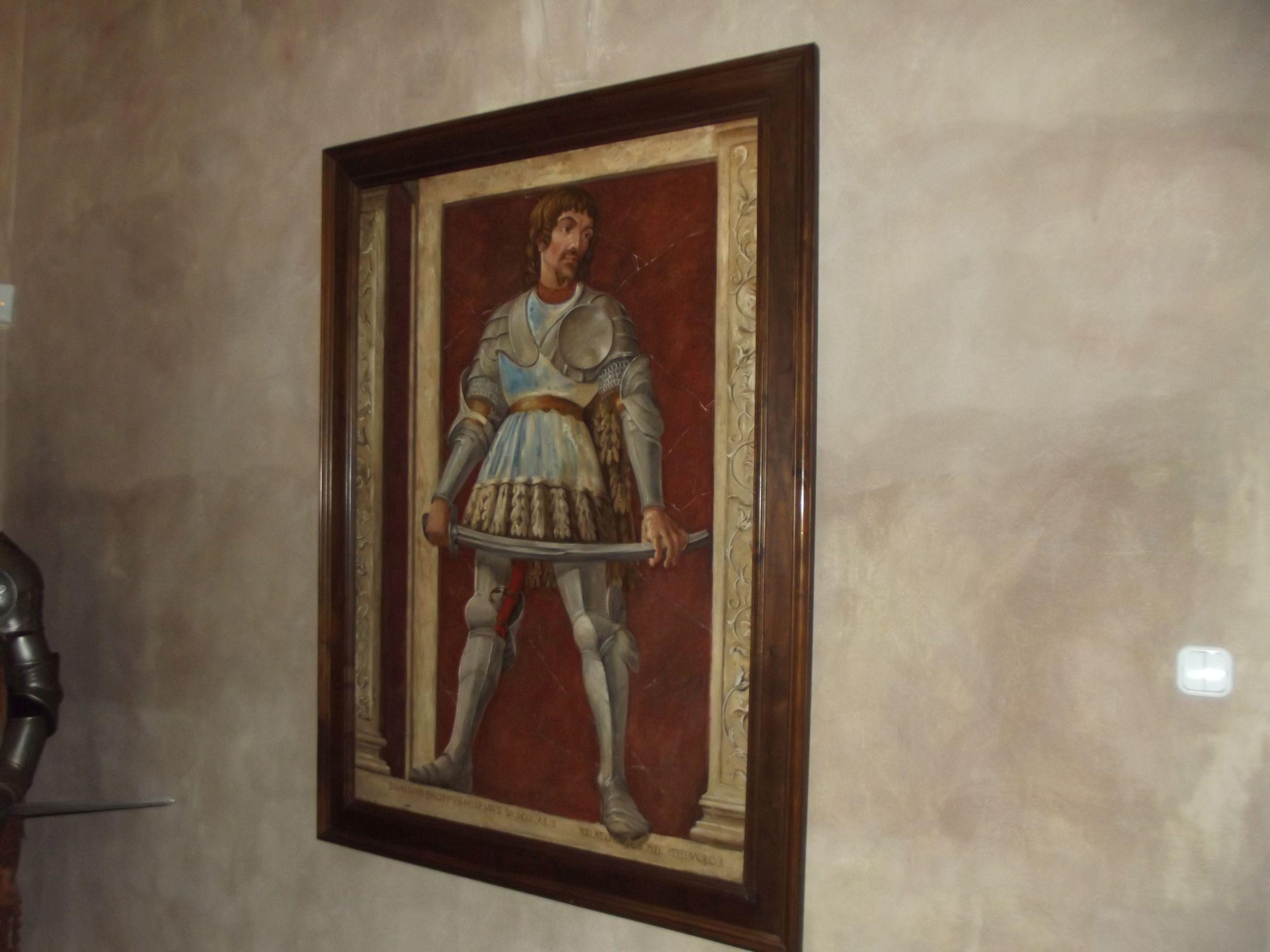 Ozorai Pipo, Castagno festménye, 1450 körülről