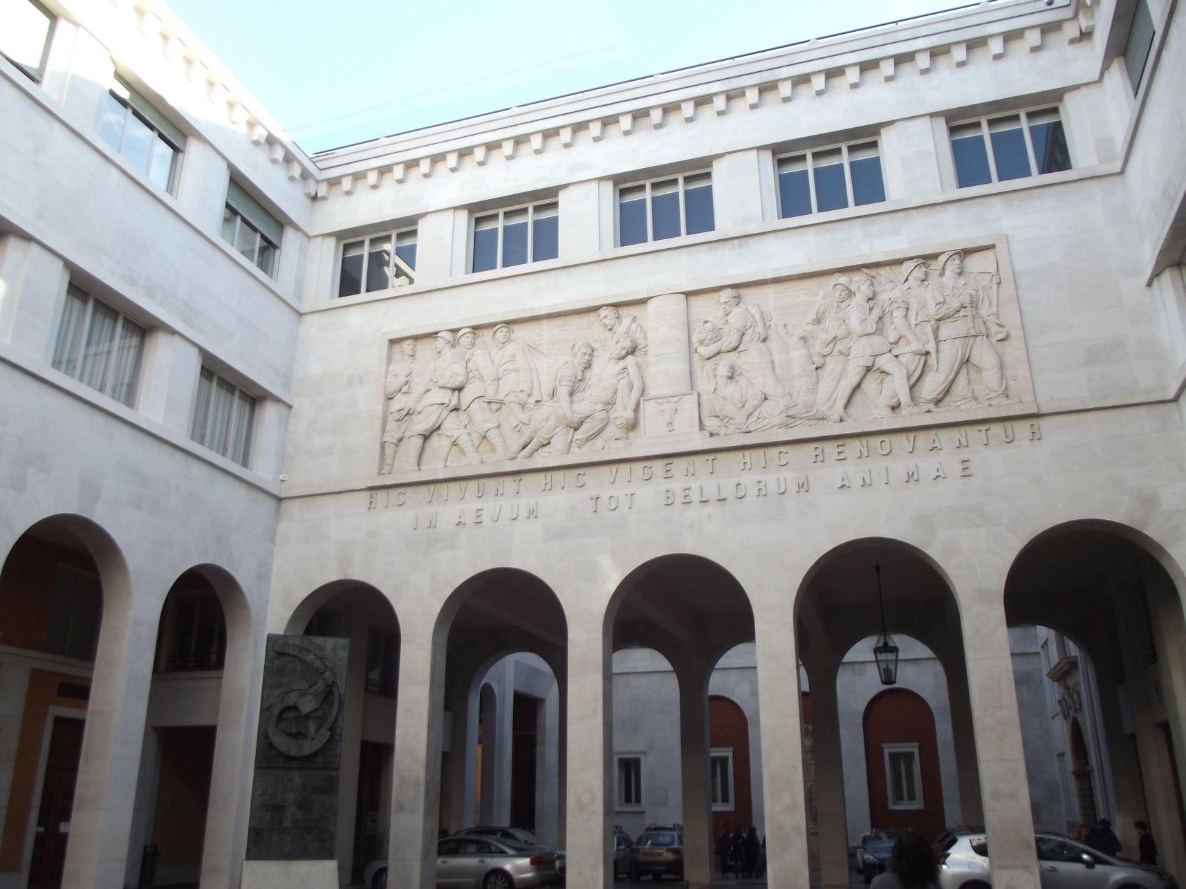 Az Egyetem egyik udvara