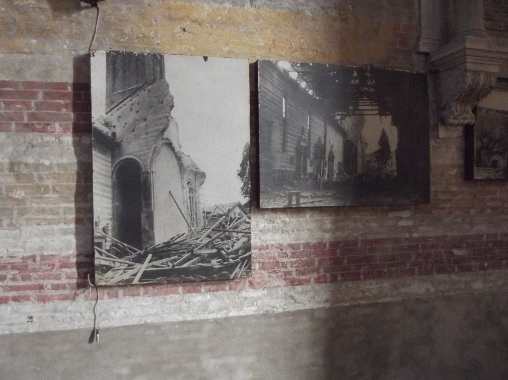 Az Eremitani a világháborús rombolás után