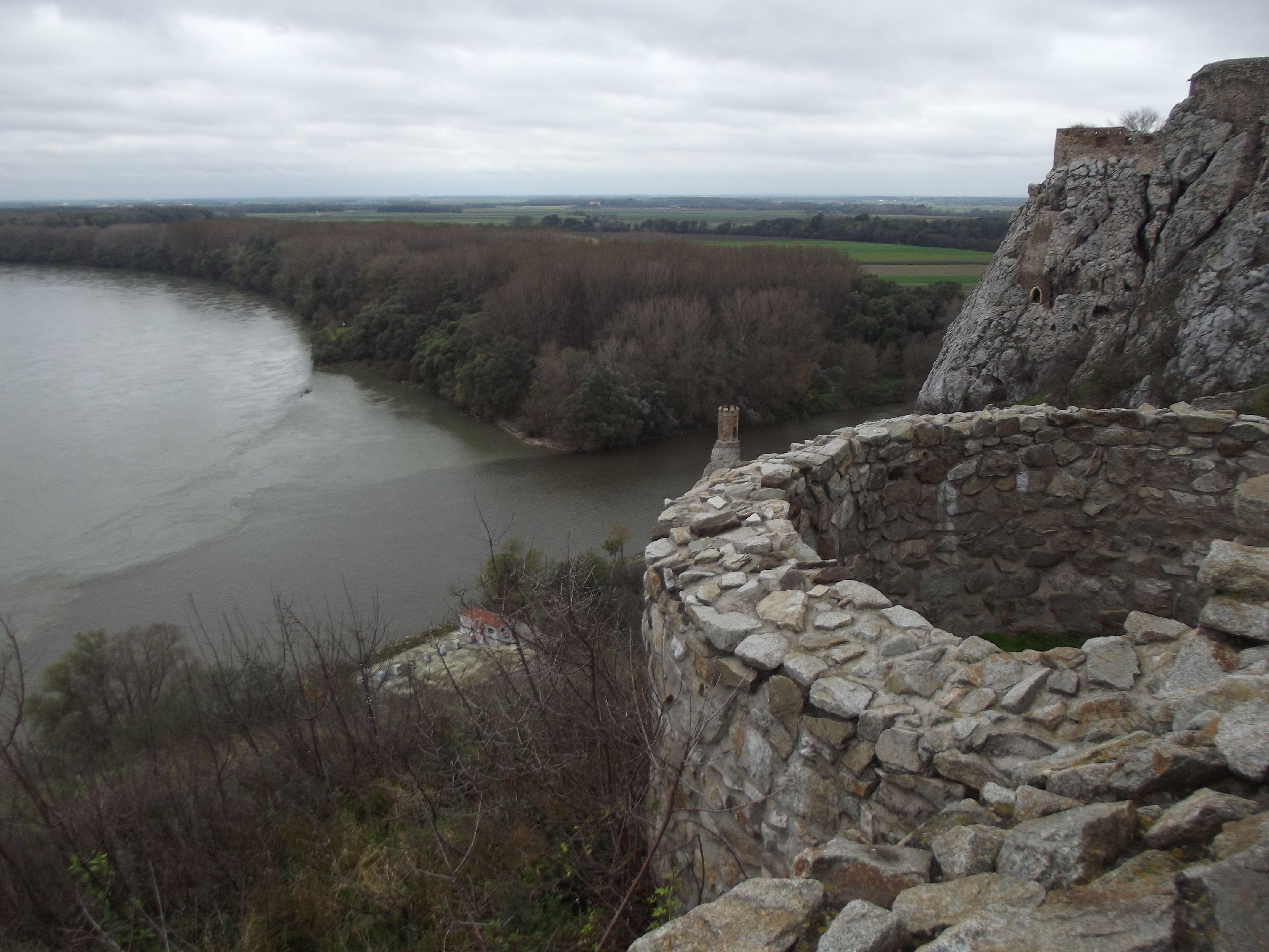 A Morava és a Duna összefolyása