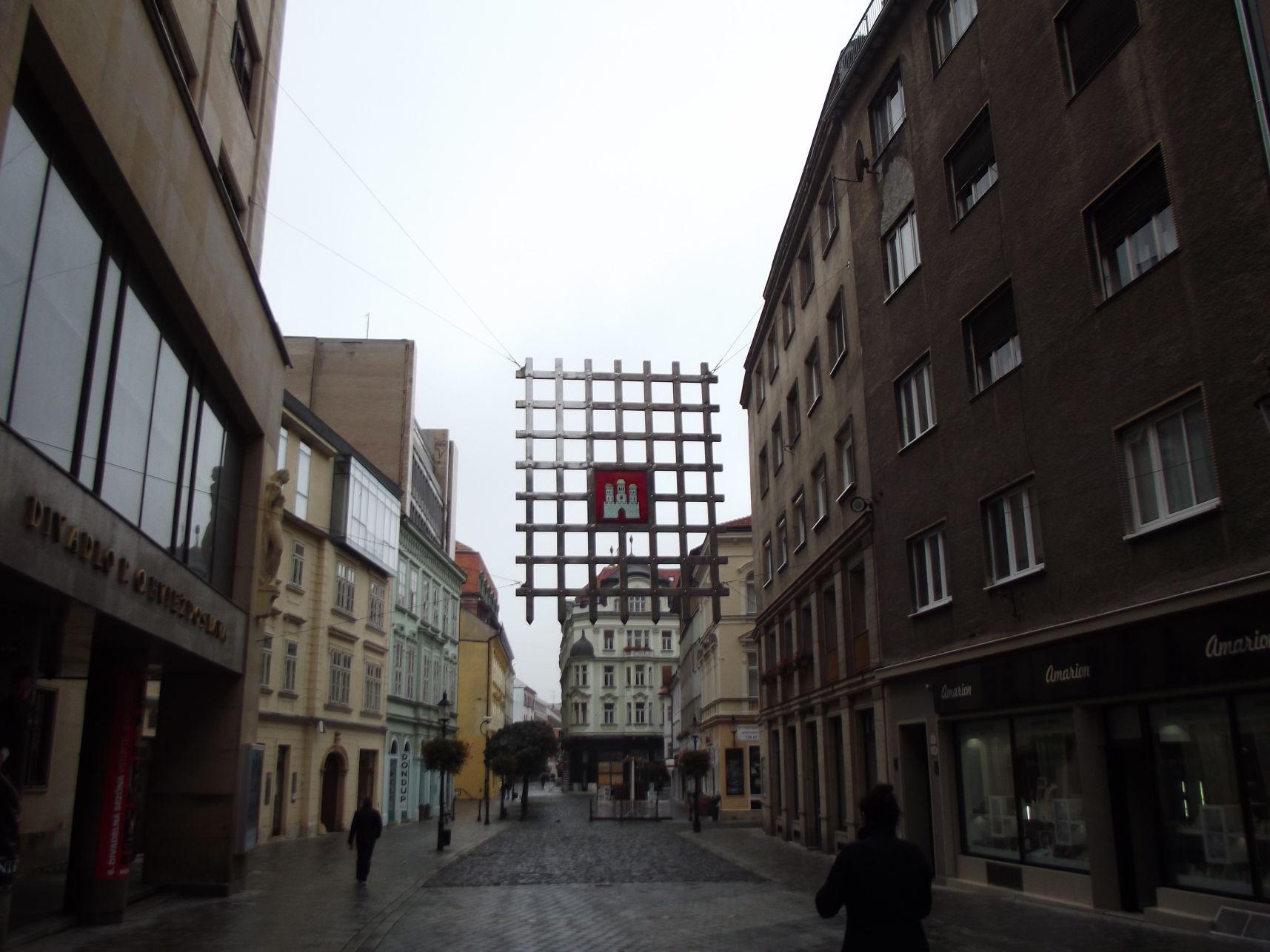 Laurinská utca, a belváros kezdete