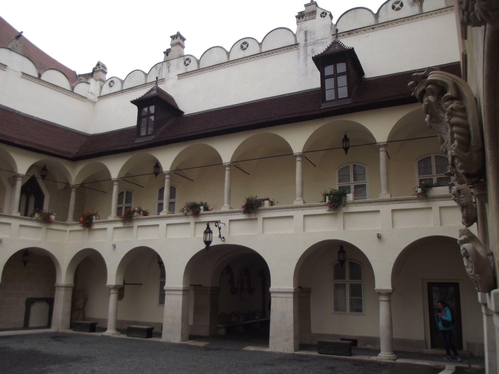 A Régi Városháza udvara