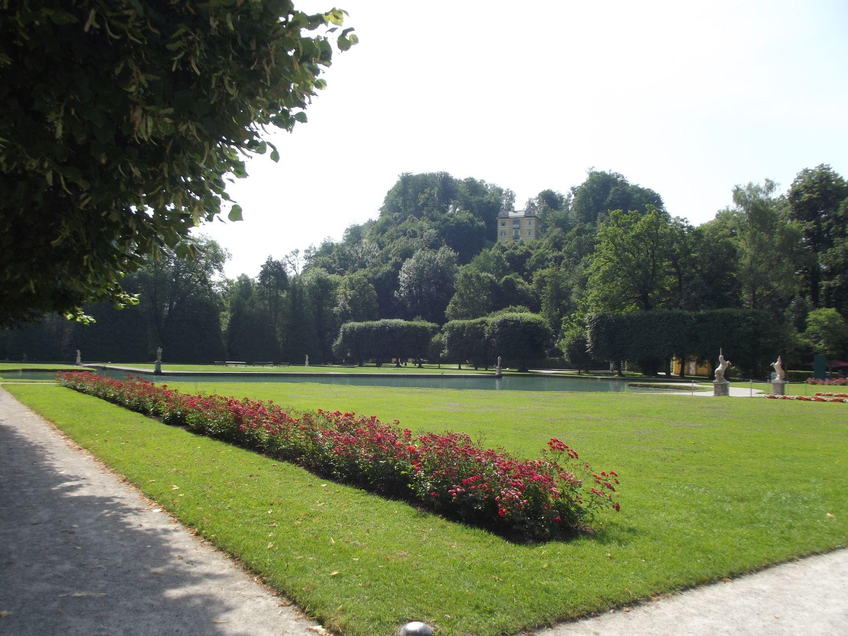 Hellbrunni Kastély parkja