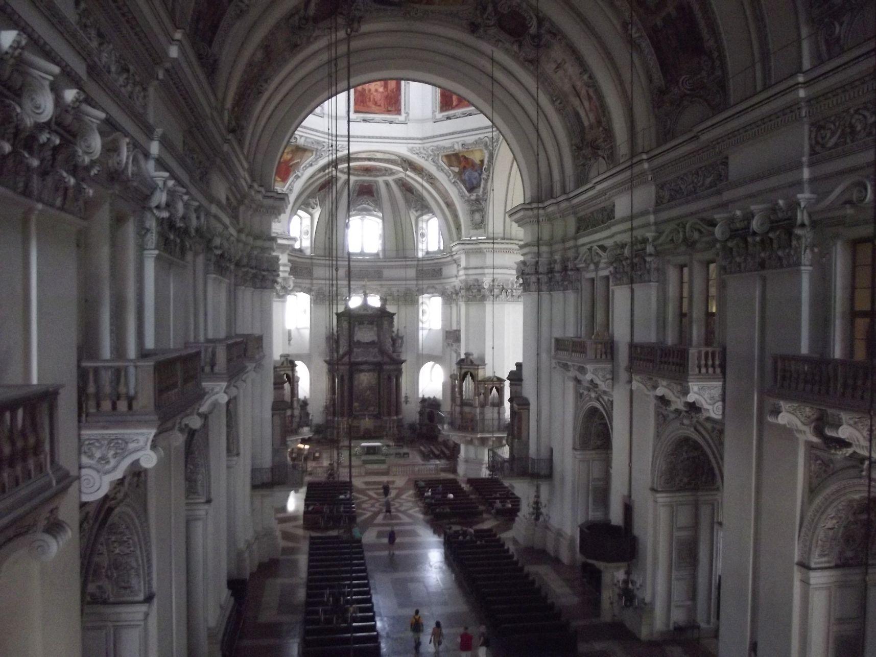 Salzburgi Dóm belülről