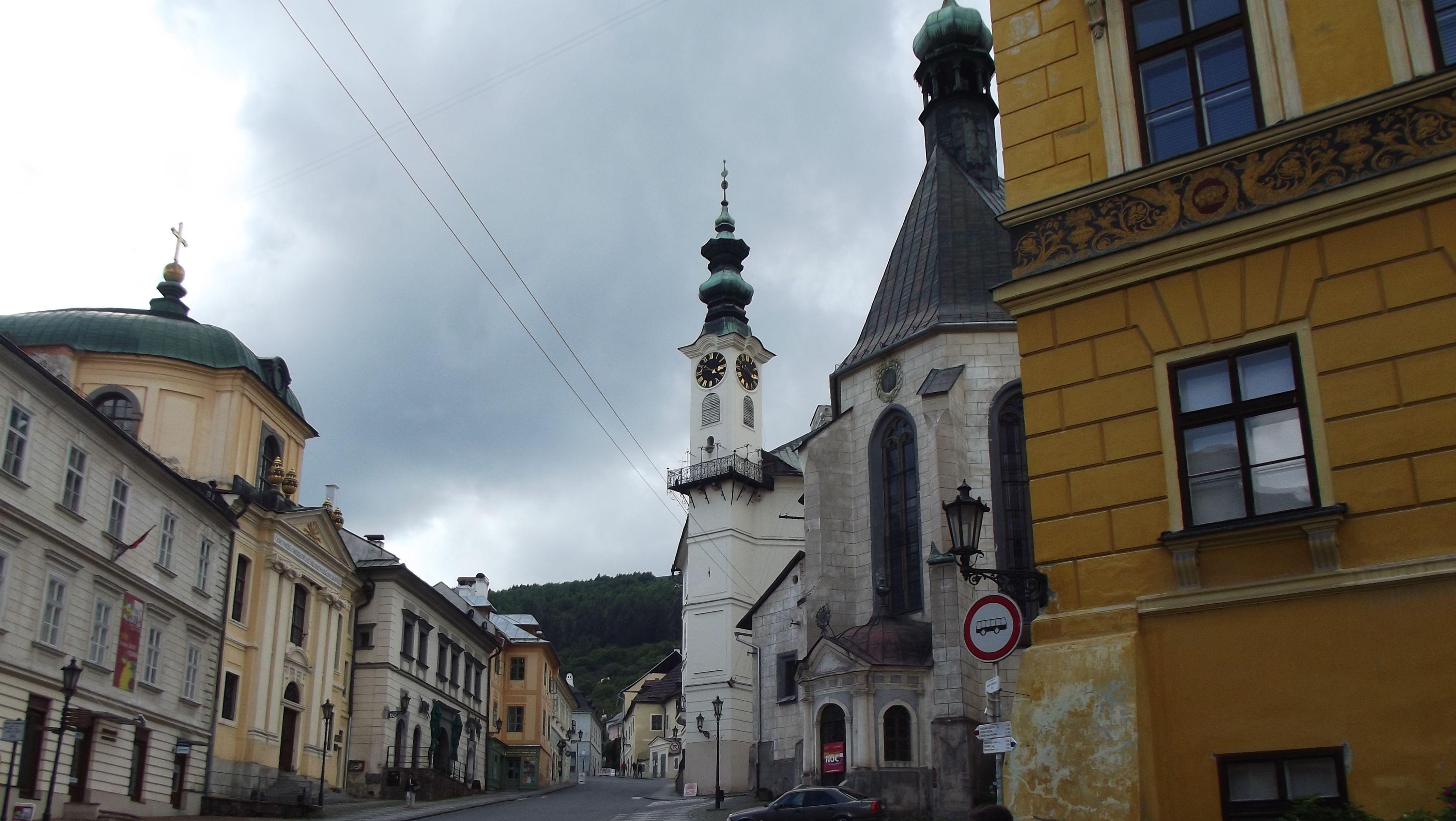 Szent Katalin templom, Városháza, Evangélikus templom