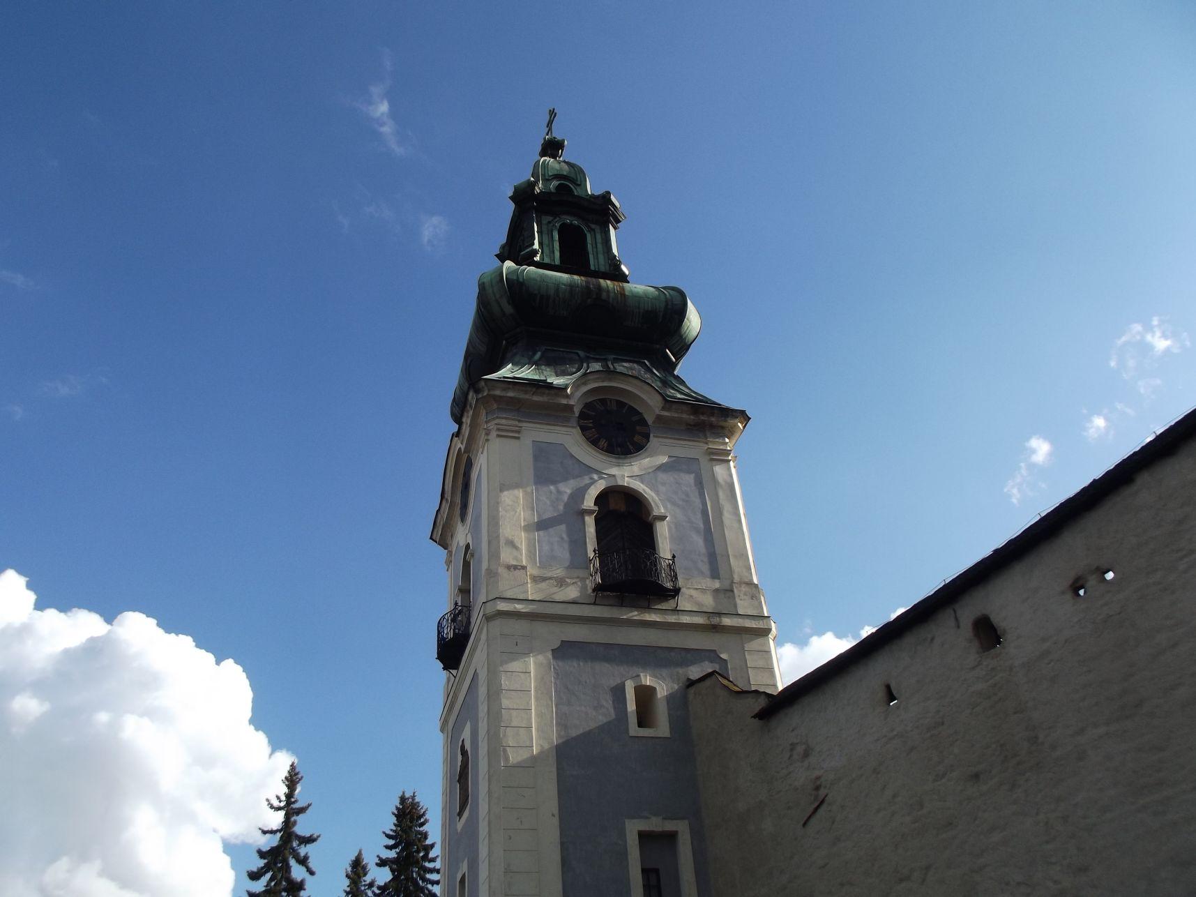 Az Óvár templomtornya
