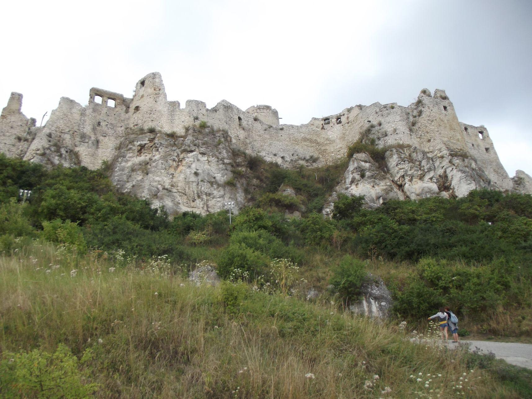 Útban a vár felé