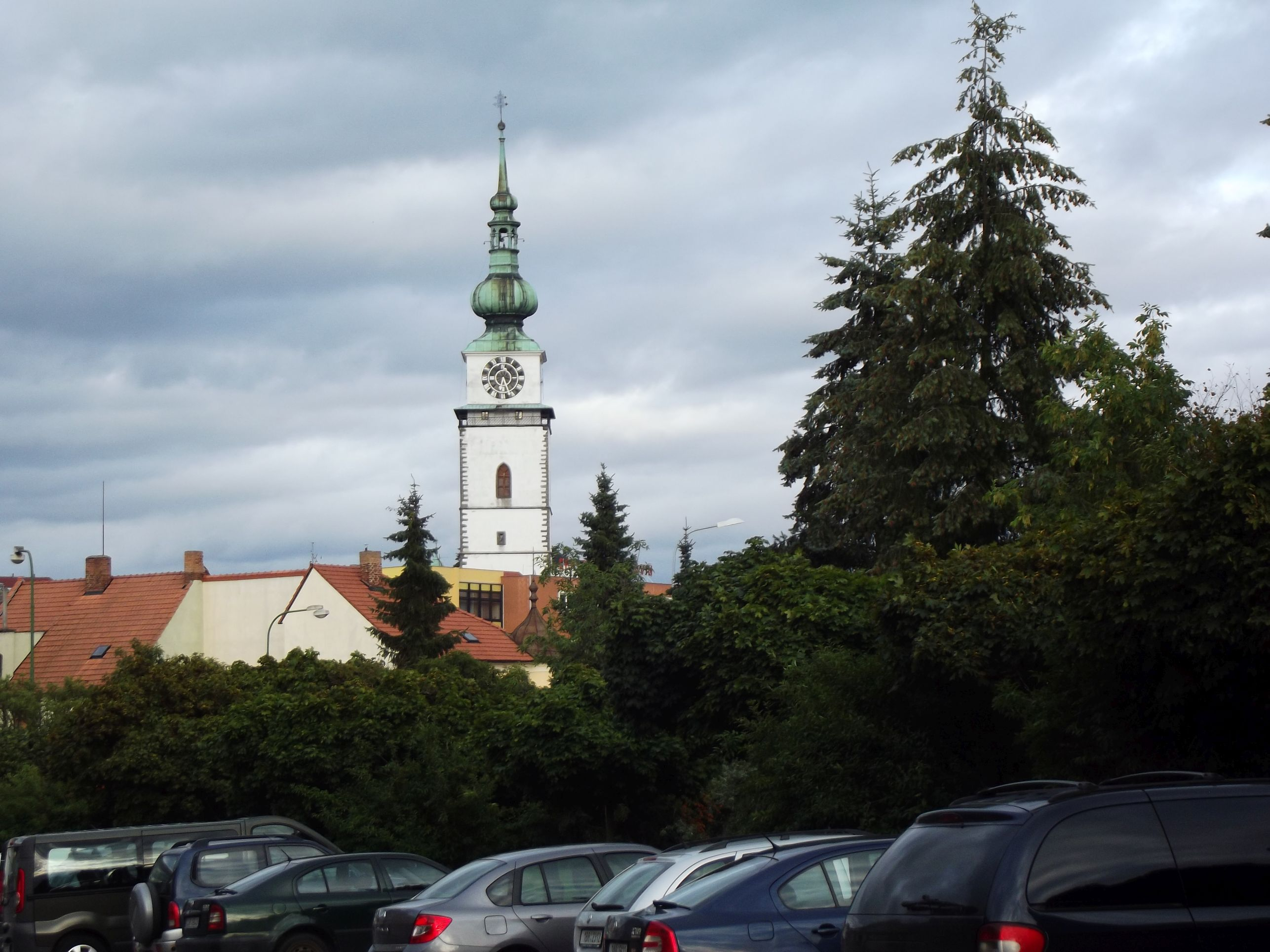 Třebič, a Várostorony