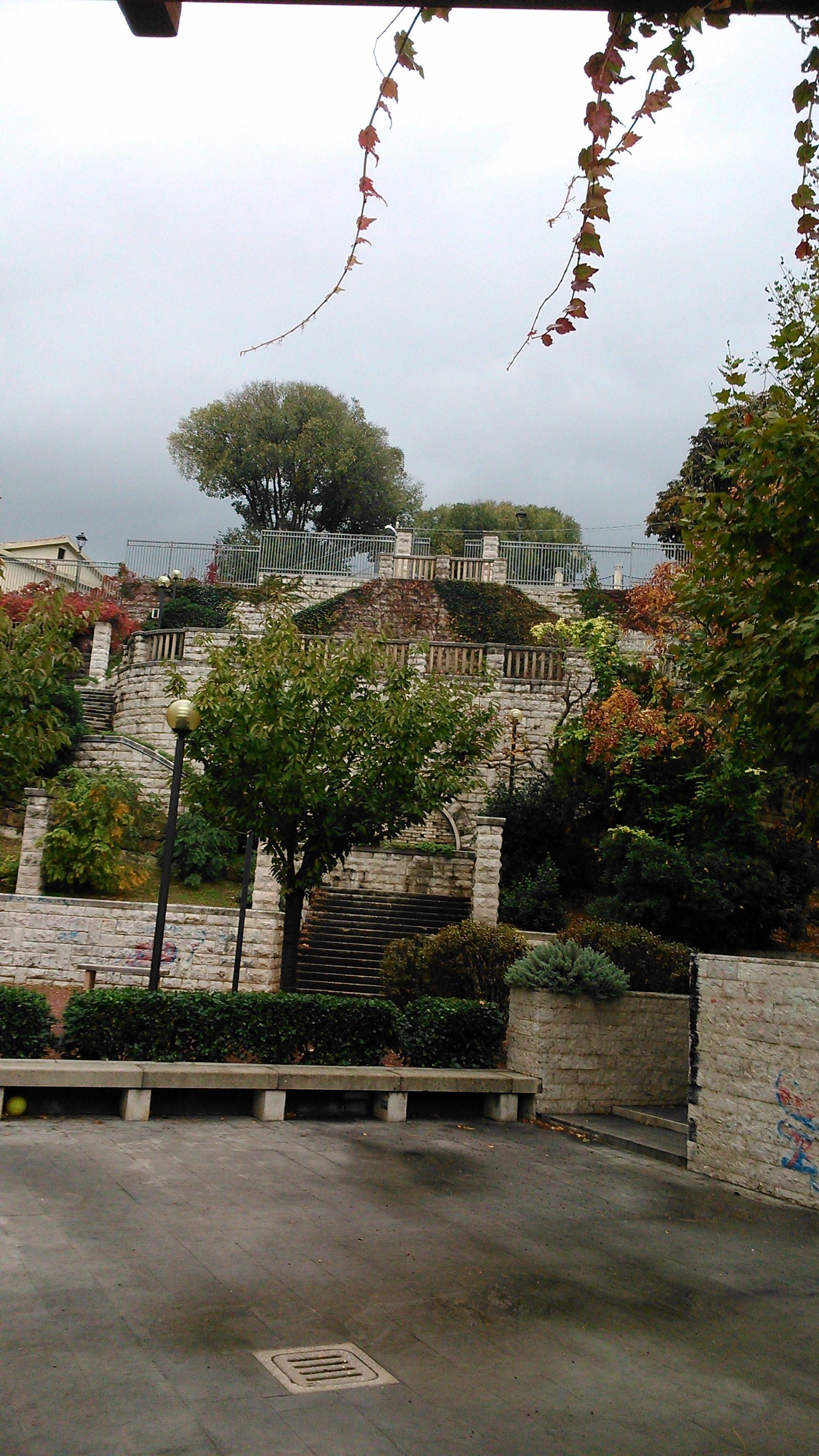San Michele park lépcsője