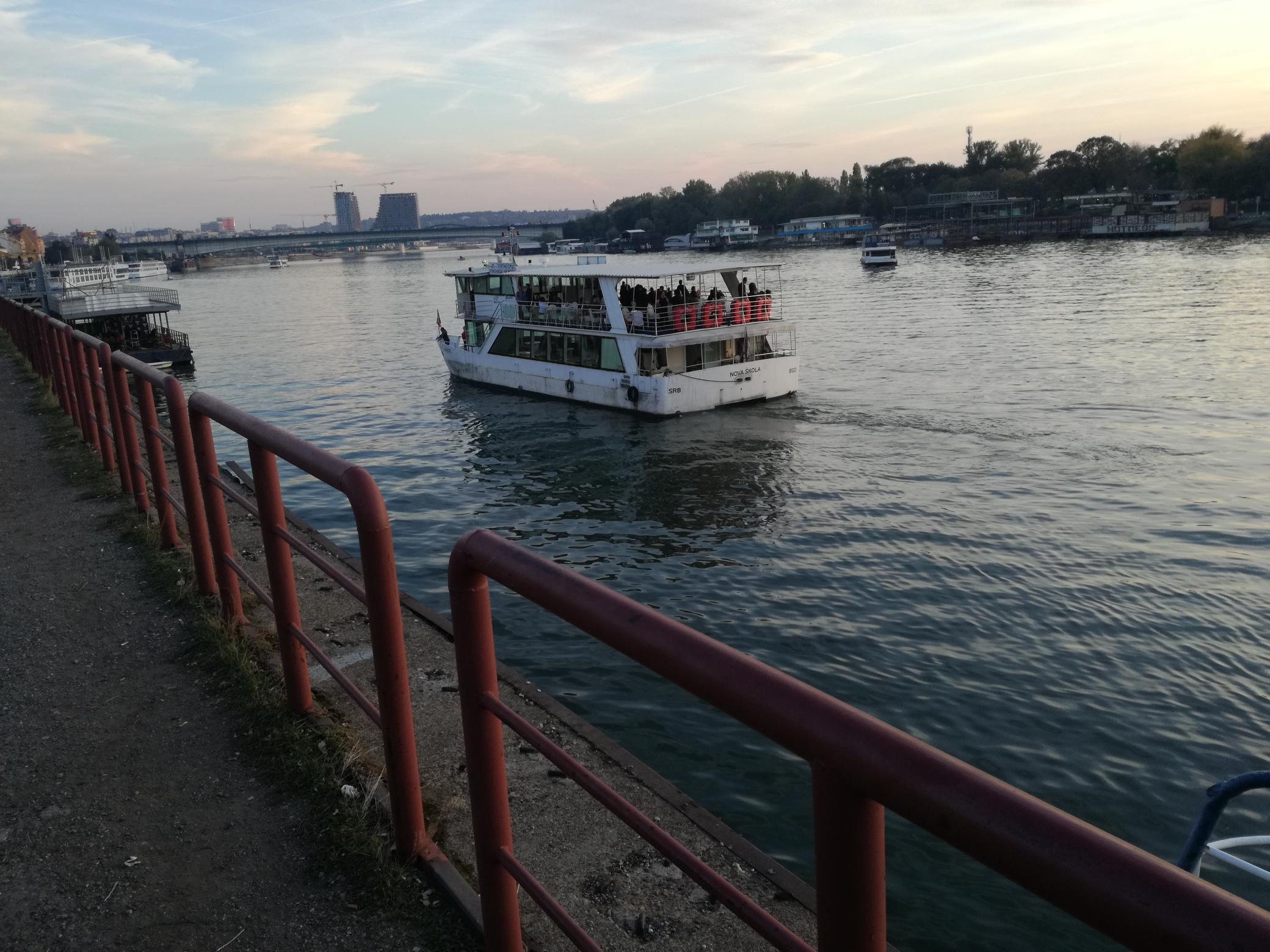 Hajókázás a Száván