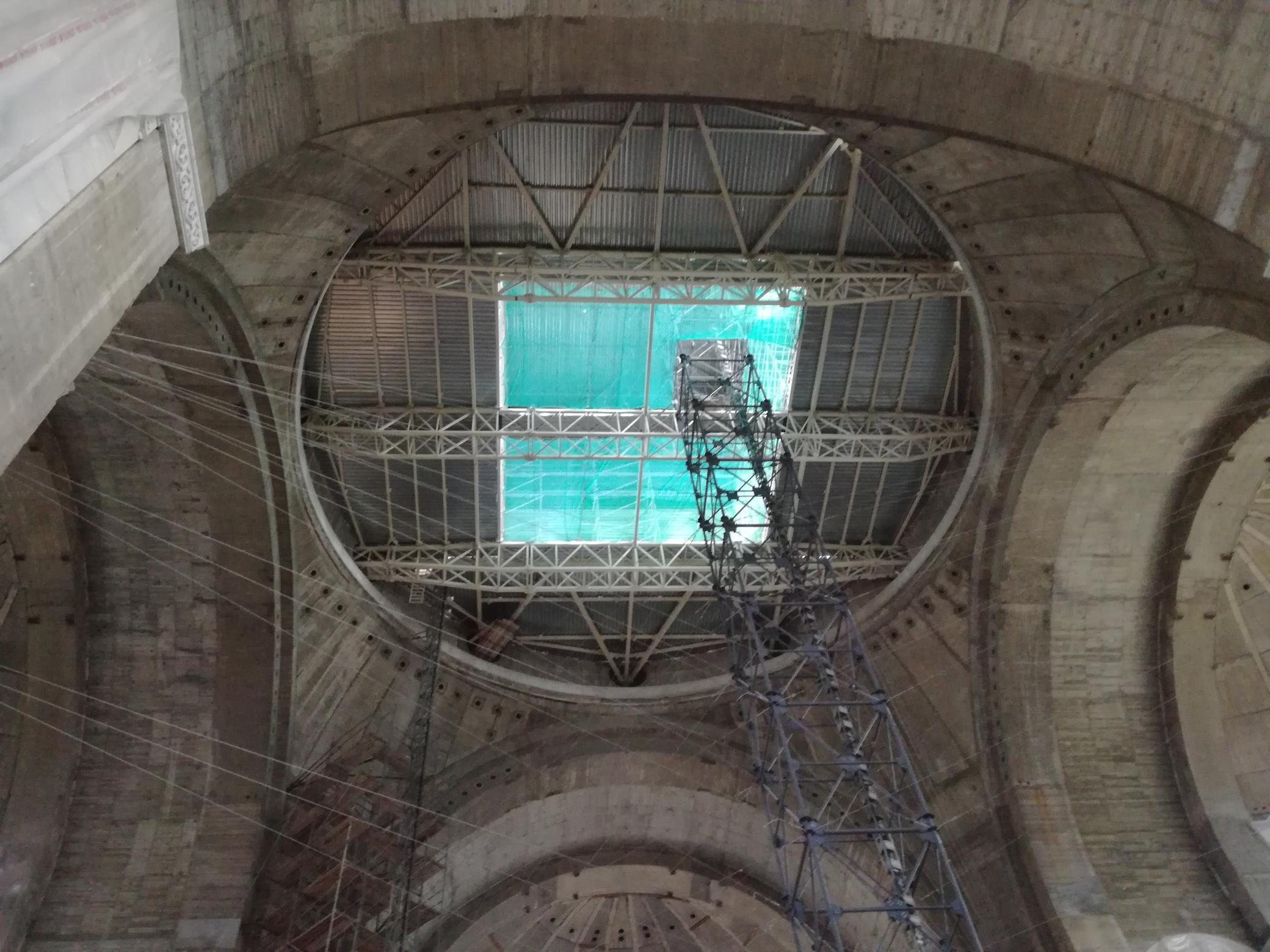 A beállványozott kupola
