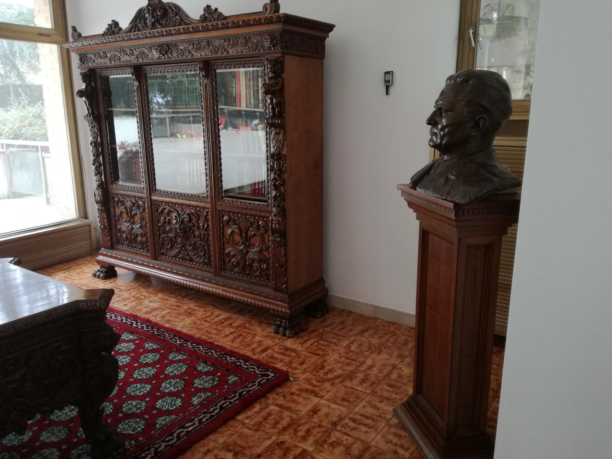 Tito dolgozószobája