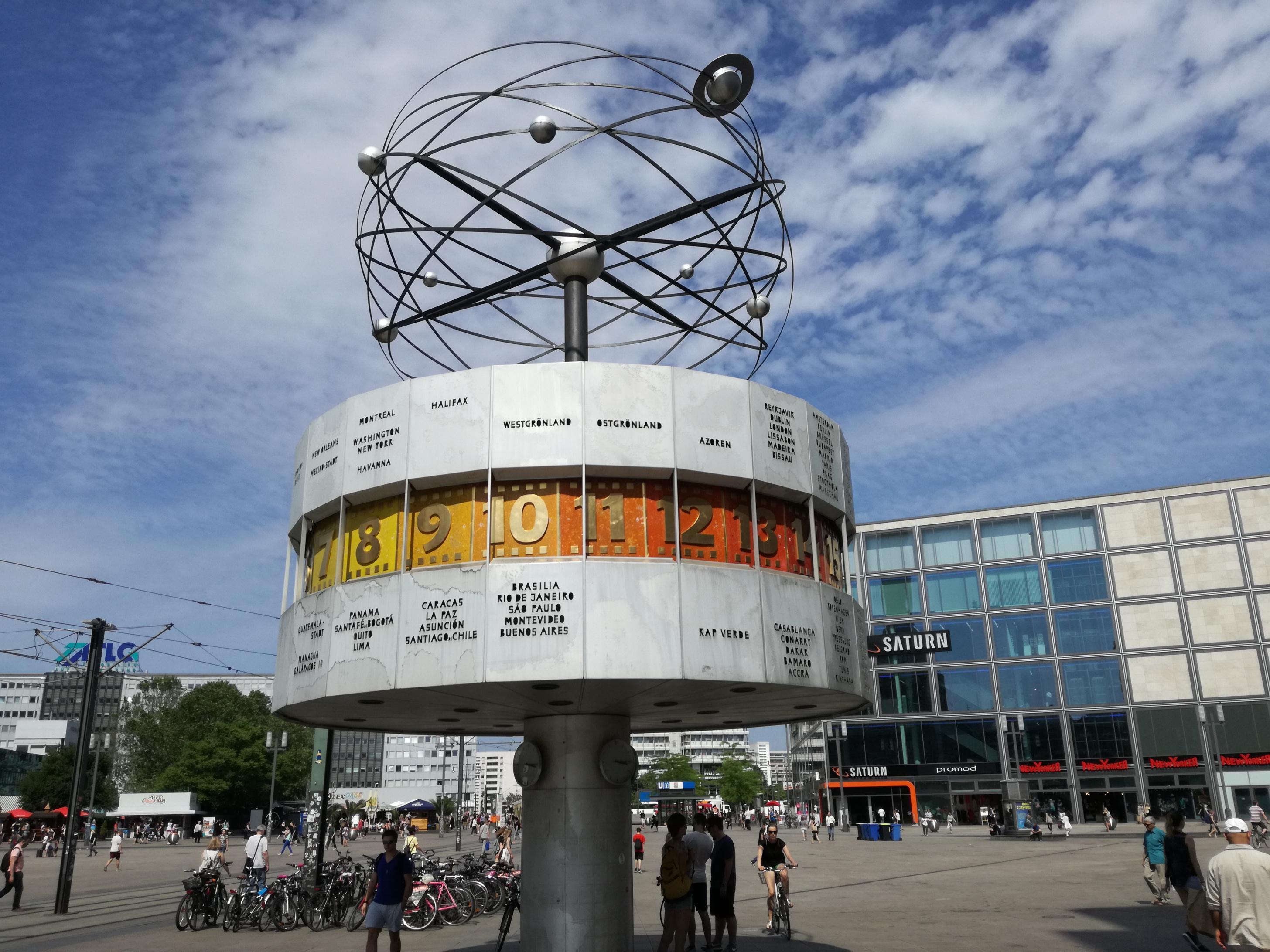 Világóra az Alexanderplatzon