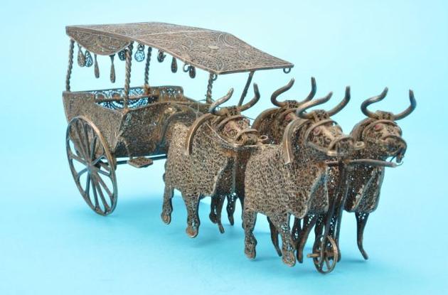 140 g-os ökrös szekér (Forrás: www.museofiligrana.org)