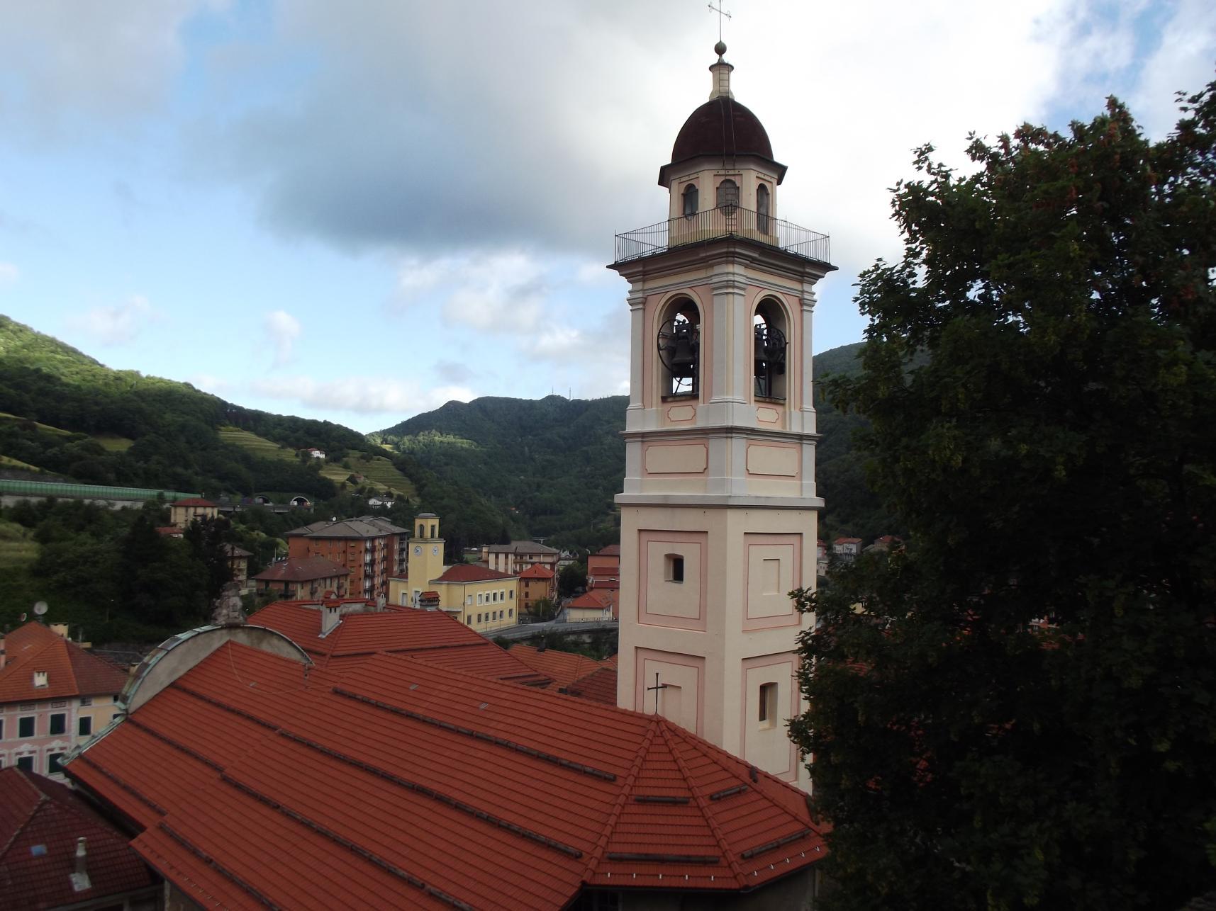 A templom a várból